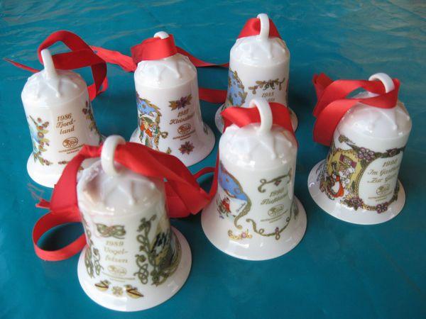 Weihnachtsdeko Verkaufen.Weihnachtsdeko Hutschenreuther Glocken In Illingen Dekoartikel