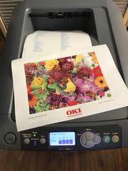 OKI E711WT Farblaser A4 Textildruck