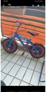 Spidermann Fahrrad mit Helm