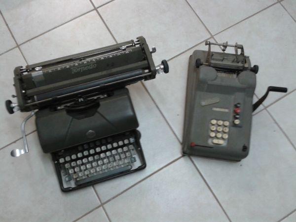 Torpedo Schreibmaschine und Ohdner Rechenmaschine
