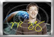 MARK ZUCKERBERG Original Foto Souvenir