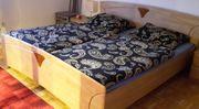 Doppelbett Erle teilmassiv