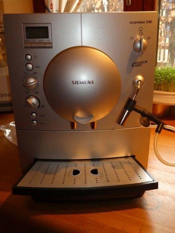 Kaffeeautomat Siemens In Windsbach Kaffee Espressomaschinen