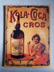 Bild auf Keilrahmen Kola-Coca CROS