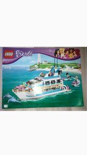 Lego Friends Große Jacht