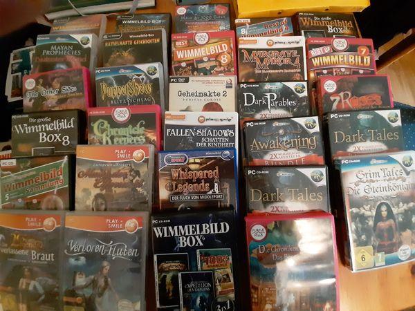 Biete diverse Wimmelbild-Spiele