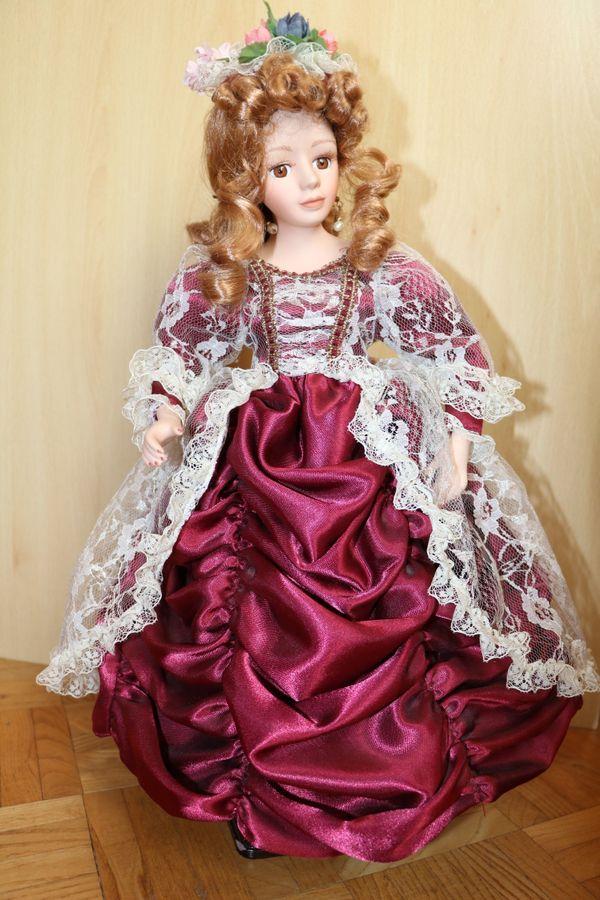 Porzellan Puppe Victorian Dolls Mary