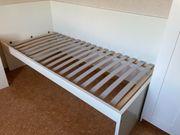 IKEA Bett mit Schrank