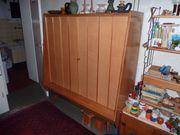 Set Geschirrschrank und Sideboard Kirschbaum