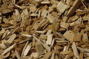 Holzschnitzel - Holzdekor - Gartendekor