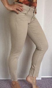 NEU ESPRIT edc Stretch-Jeans beige