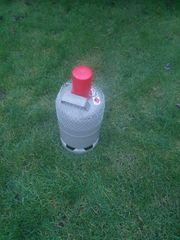 Volle 5 KG Propangasflasche