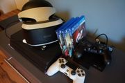 PlayStation 4 mit vr brille