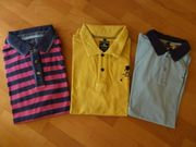 3 New Zealand Poloshirts