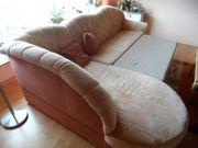 Sofa mit Bettkasten un Schlaffunktion