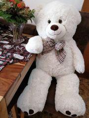 XXL Teddybär weiß