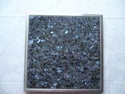 Küchenarbeitsplatte Einbau Granitfeld in Arbeitsplatte