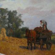 Wilhelm Fritzel - Gemälde Öl auf