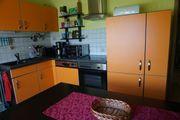Hübsche Küche in L-Form