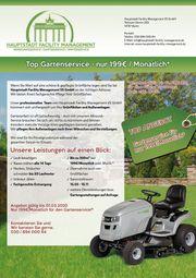Top Gartenservice - nur 199EUR Monatlich