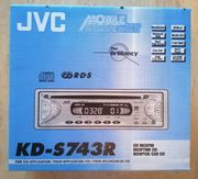 JVC KD-S743R Autoradio CD MP3