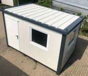 Bürocontainer Wohncontainer Gartenhaus Büro Hobbyraum
