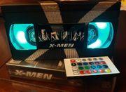 Retro VHS Lampe X-Men