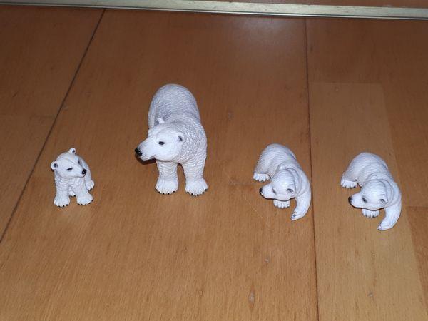 Schleich Tiere 1 Eisbär mit