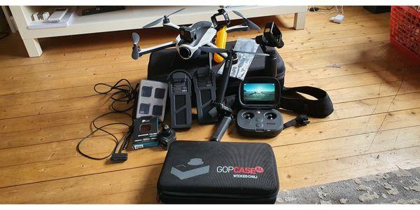 Drohne mit Kamera mit diversen