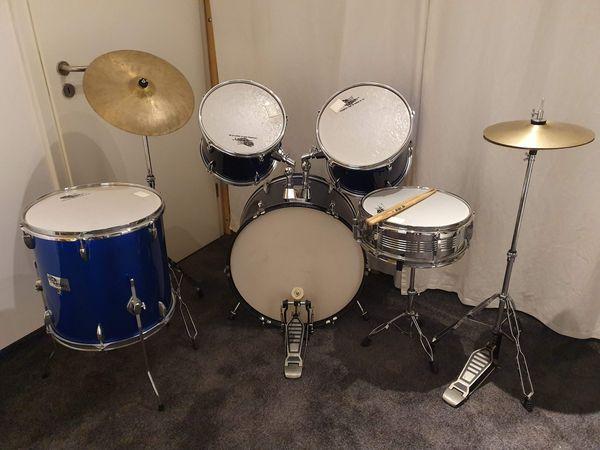 Tolles Einsteiger-Schlagzeug Drumset Drumkit