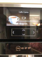 Einbaukaffeevollautomat Neff