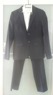 Anzug Hemd Jungen Gr 158