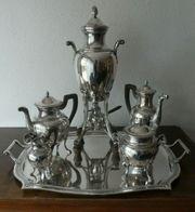 ANTIK Prunkvolles Kaffee Teeservice 950er