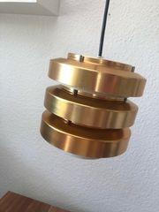 Hängellampe Kupfer DDR