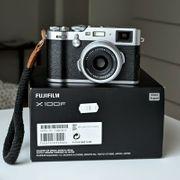 Fujifilm X100F in Originalverpackung mit
