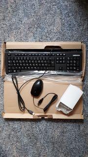 Medion Set USB-Tastatur mit Maus