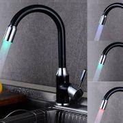 LED Wasserhahn Küche mit 360°