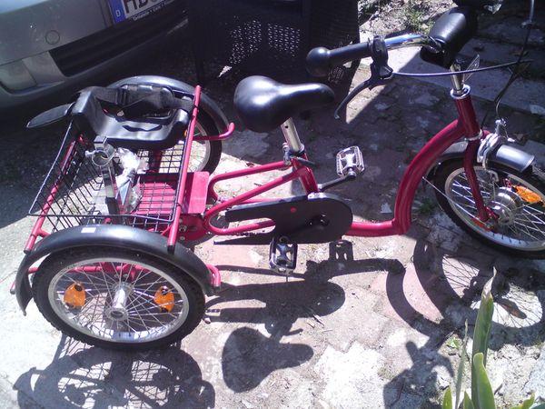 Behinderten -Kinder Lastendreirad 16 Zoll