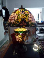Schöne Buntglaslampe