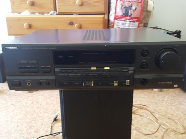 Technics SA-GX470 Surround AV-Controler Stereo