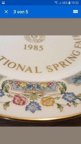 Sonstige Sammlungen - 1X Sammelteller Royal Worcester 1985