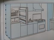 komplette Küchenzeile inkl Elektrogeräte
