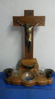 Kreuz aus Massivholz