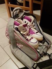 Mädchen Eislaufe Schuhe