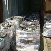 Autohändler Schrotthändler alte Autobatterien