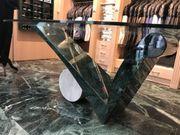 Designer Marmor Glas Tisch