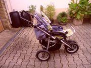 teutonia Kinderwagen mit Gebrauchsspuren pn