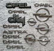 Verkaufe 14X Opel Zeichen