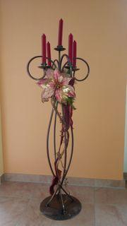 Boden-Kerzenständer 5-