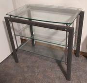 TV Tisch aus Metall mit